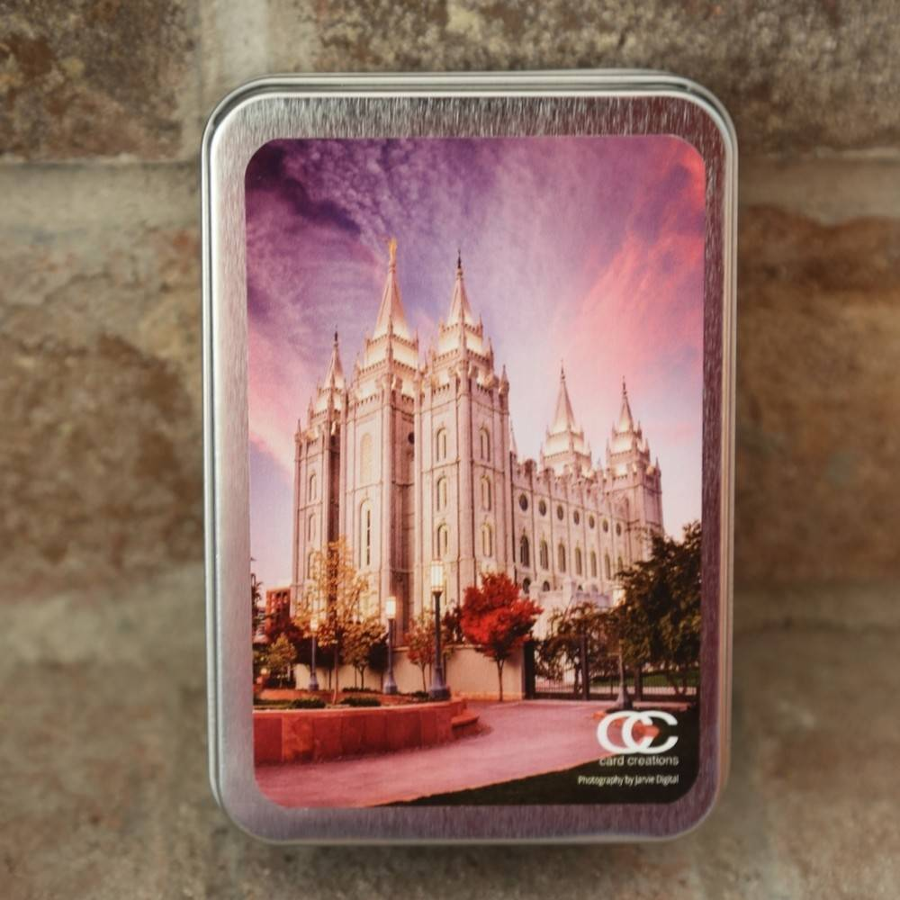 LDS Temple Cards