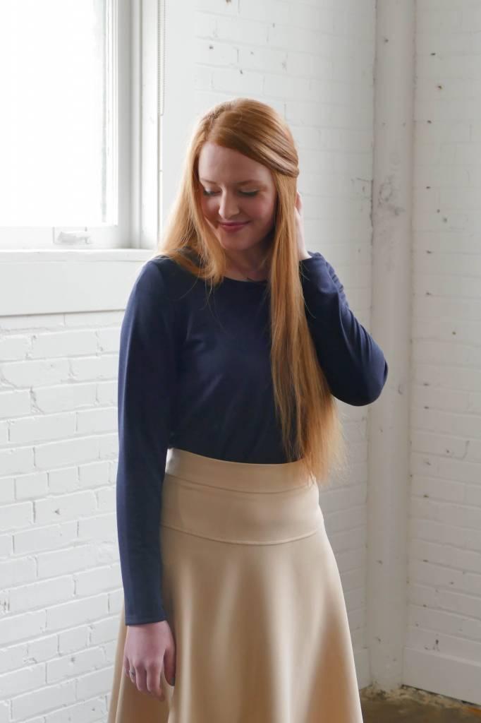 Edyn Clothing Co. Basic Long Sleeve Top