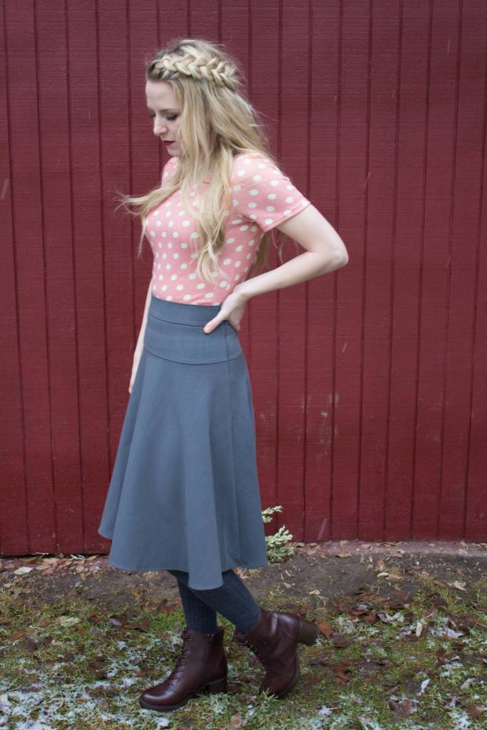 Edyn Clothing Co. Best Mission Skirt-Winter Weight