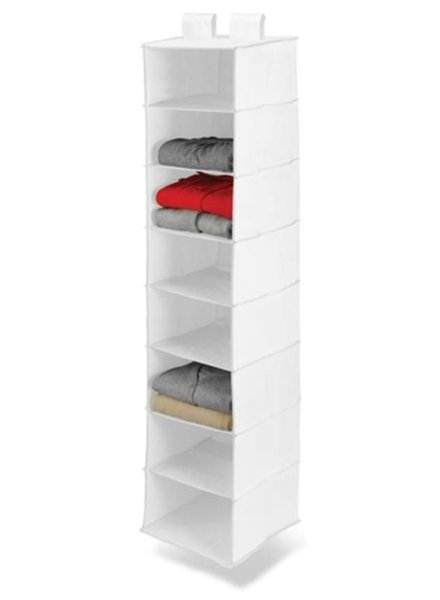 8 Shelf Clothing Organizer