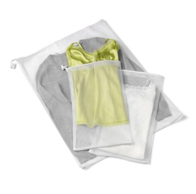 3 Piece Mesh Laundry Bag Set
