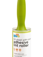 Blue Adhesive Lint Roller with Cover