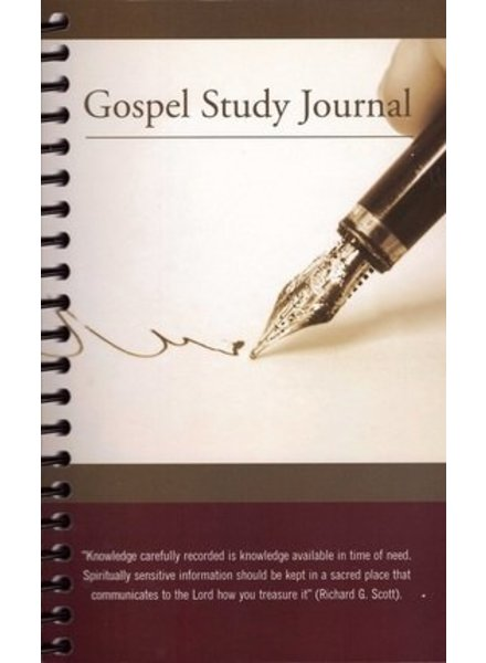 Gospel Study Journal (Spiralbound)