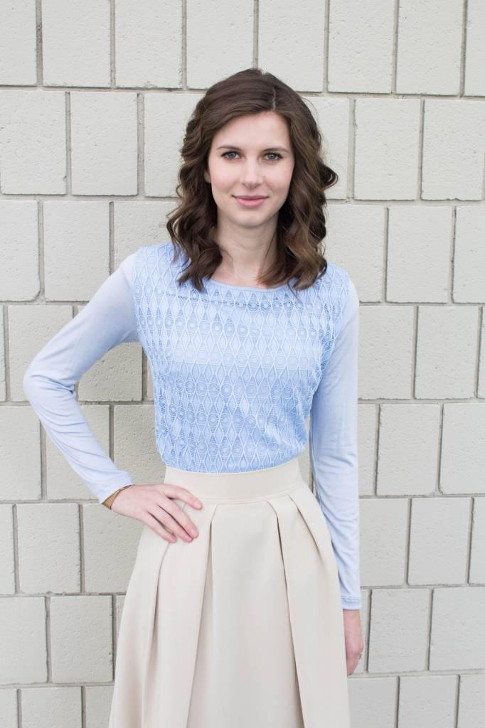 Edyn Clothing Co. Clara Lace Top