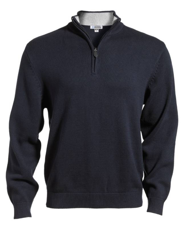 Edwards Edwards Quarter Zip Sweater