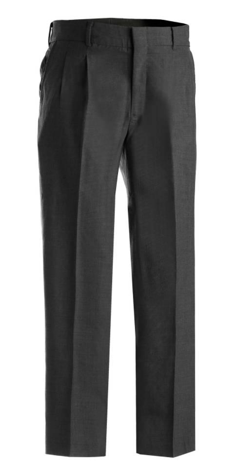 Edwards Edwards Washable Wool Blend Pleated Pant