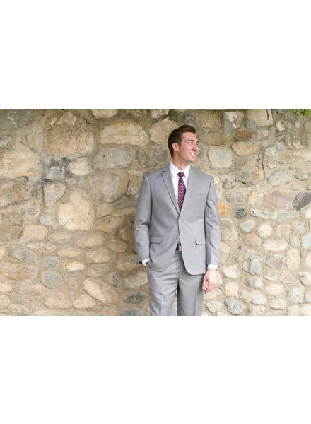 Robbins & Brooks Robbins & Brooks 2-Pant Polyester Wool Blend Suit