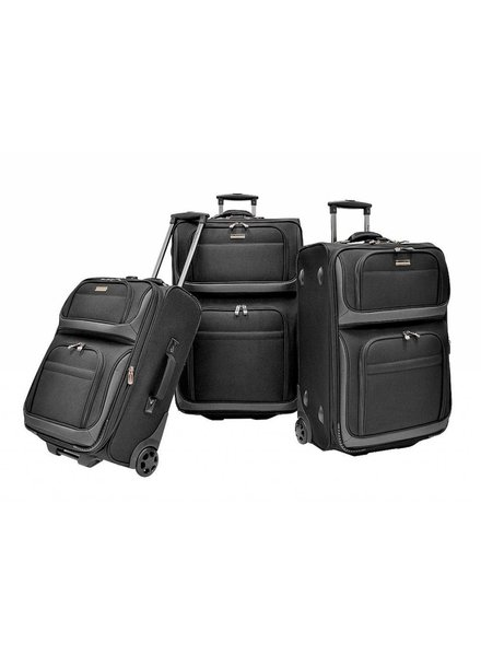 Traveler's Club Ballistic Luggage