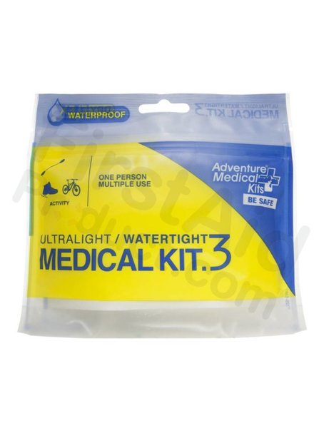 Ultralight/Watertight First-Aid Kit