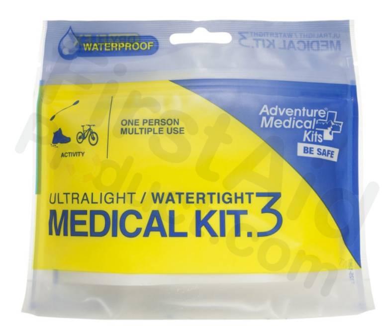 Ultralight/Watertight First-Aid Kit