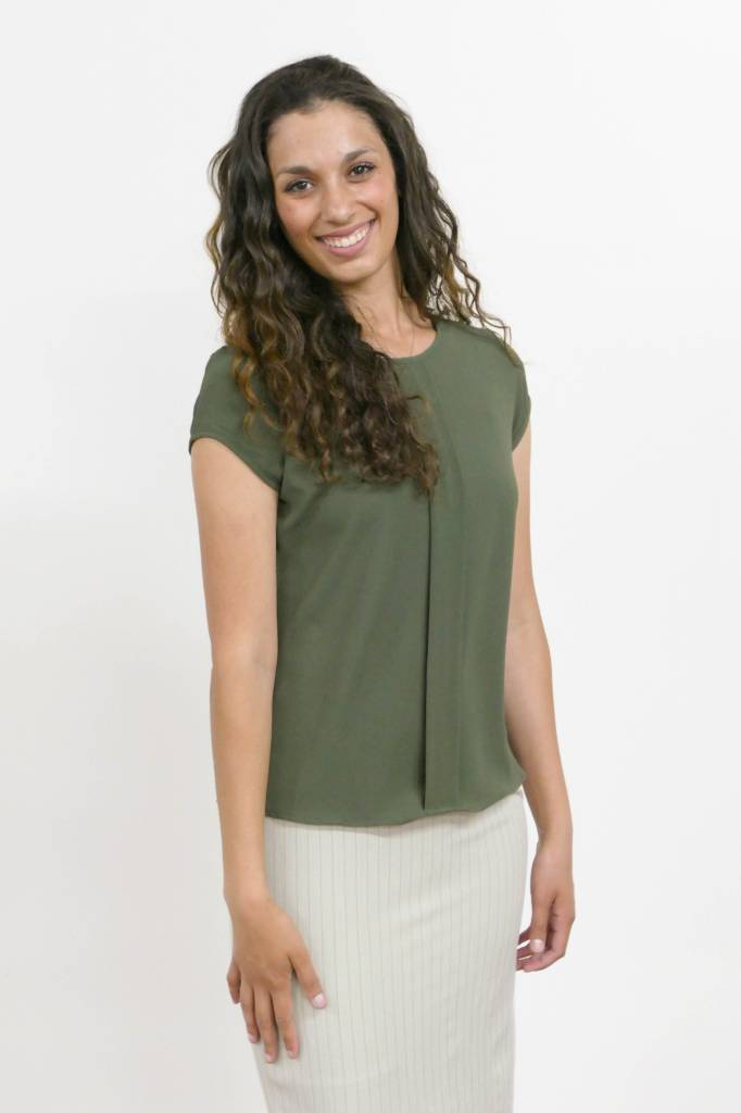 Edyn Clothing Co. Kelsey Pleated Top
