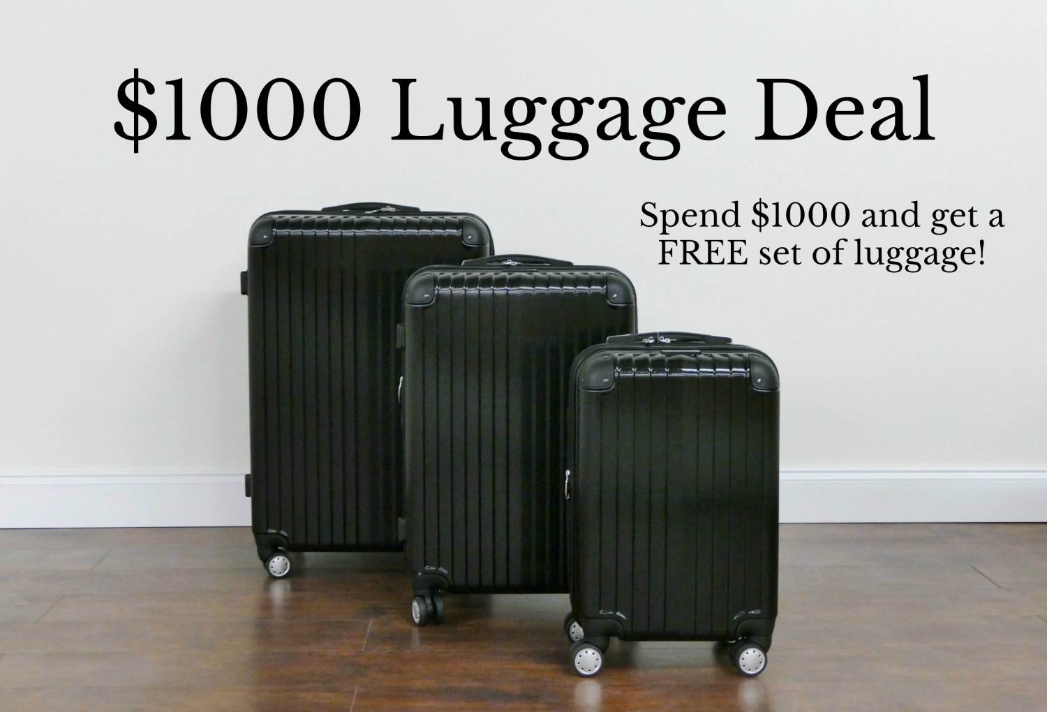 luggage deal