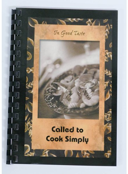 Called to Cook Simply Cookbook