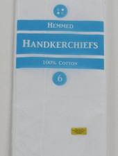 Handkerchiefs- 6 Pack