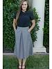Edyn Clothing Co. Box Pleat Skirt
