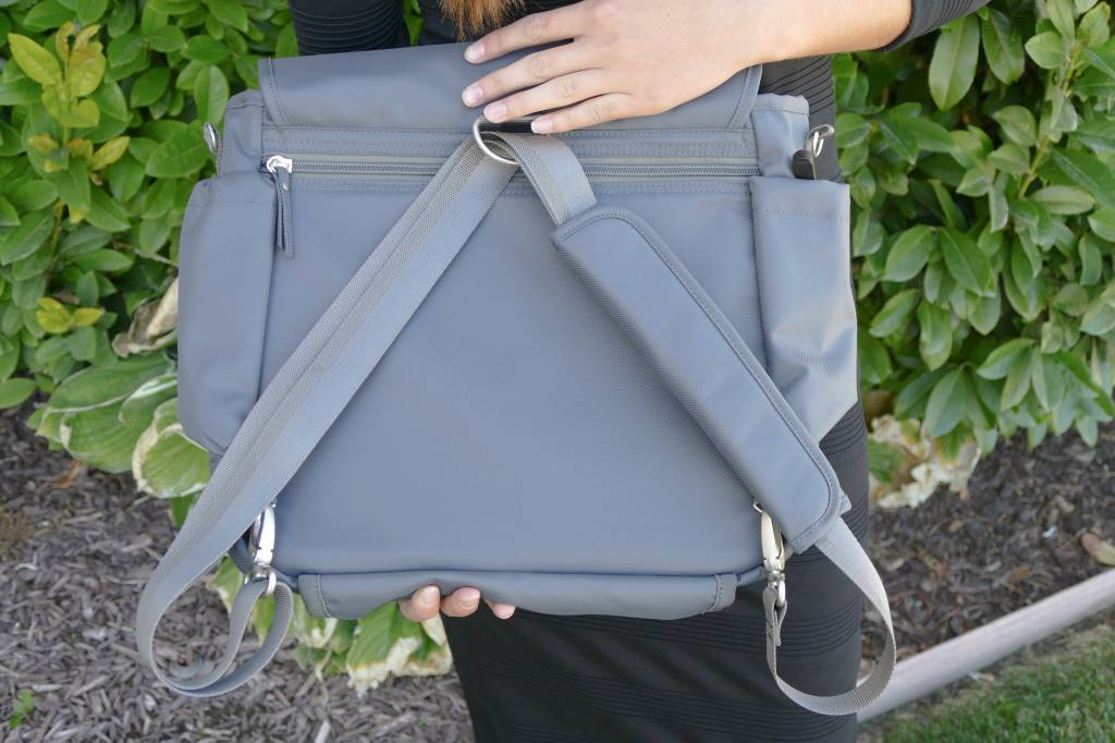 Wanderlust Convertible Messenger Bag Black