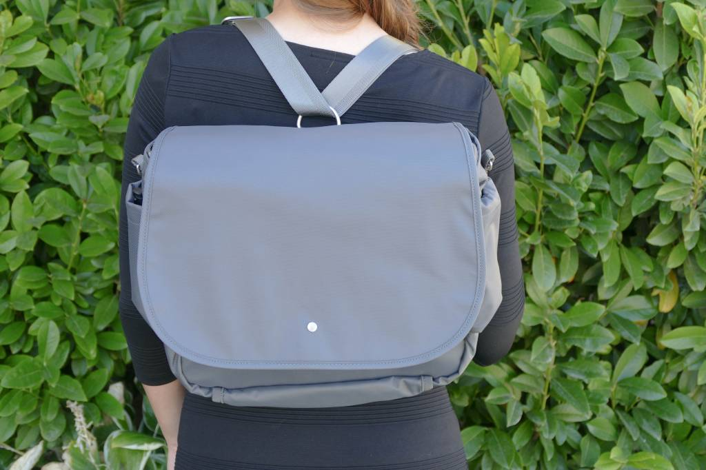 Wanderlust Convertible Messenger Bag Grey