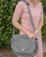 Wanderlust Convertible Messenger Bag Grey