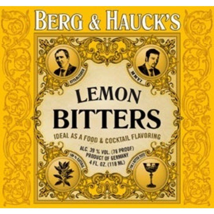 Berg & Hauck's Lemon Bitters, 4 oz.