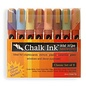 Chalk Ink Marker, Earthy Set (6mm, set of 8 colors)