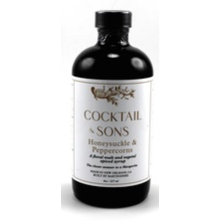 Cocktail & Sons Honeysuckle & Peppercorns Syrup