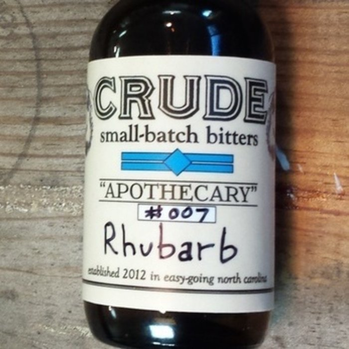 """Apothecary"" #007 Rhubarb Bitters"