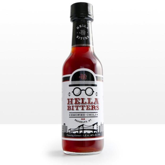 Hella Bitter Smoked Chili, 5oz.