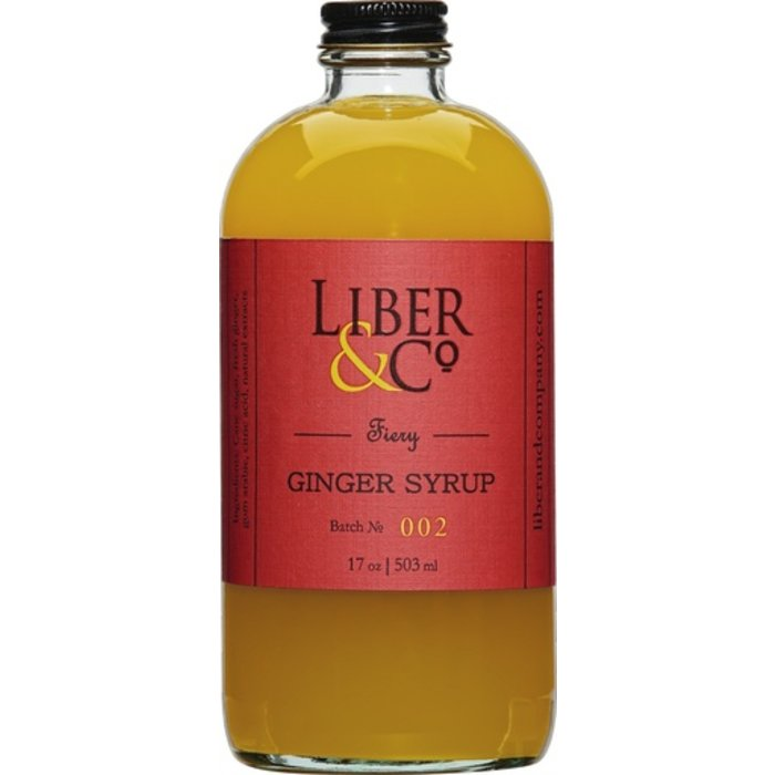 Liber & Co. Fiery Ginger Syrup, 8.5oz