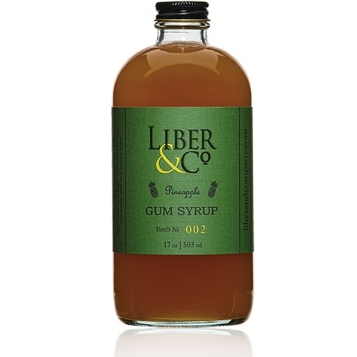 Liber & Co. Pineapple Gum Syrup, 8.5oz