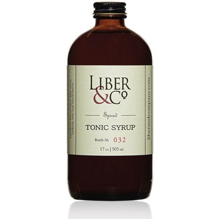 Liber & Co. Spiced Tonic Syrup, 8.5oz