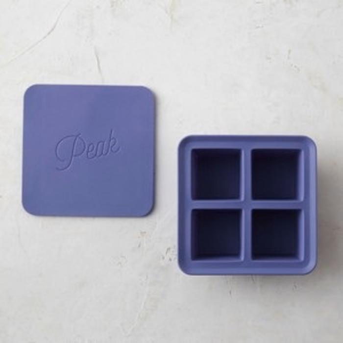 Peak Ice Works Extra Large Ice Cube Tray - Blue