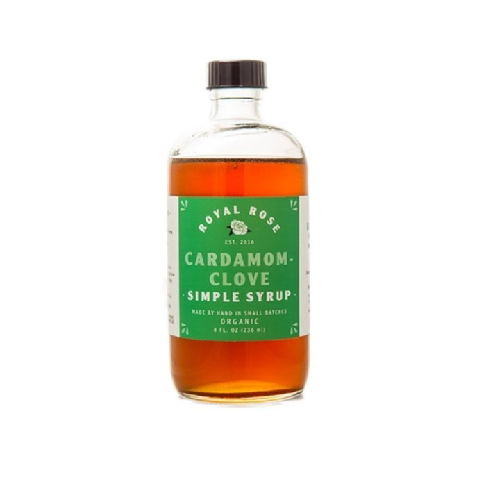 Royal Rose Cardamom-Clove Syrup, 8 oz.