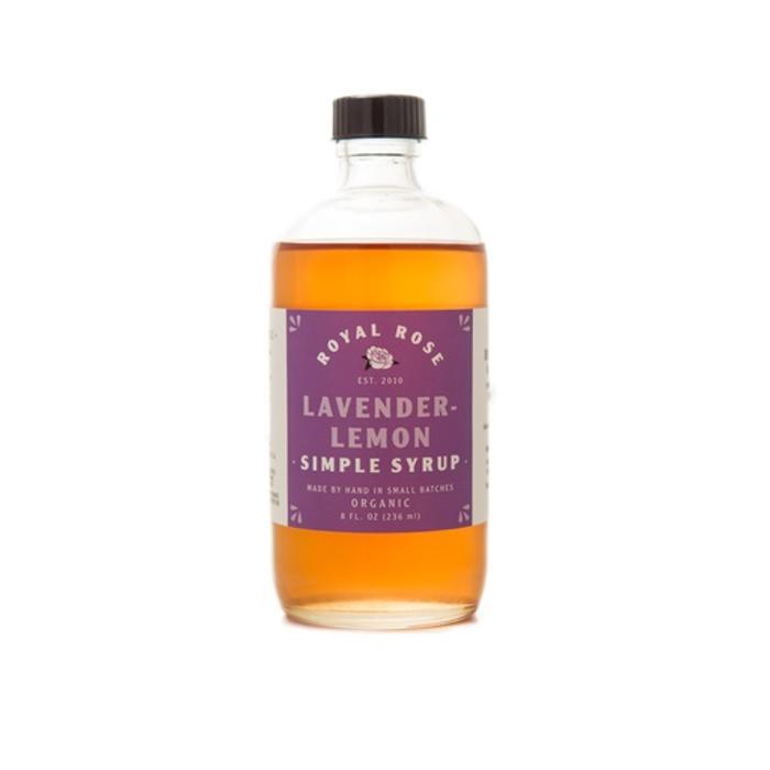 Royal Rose Lavender-Lemon Syrup, 8 oz.
