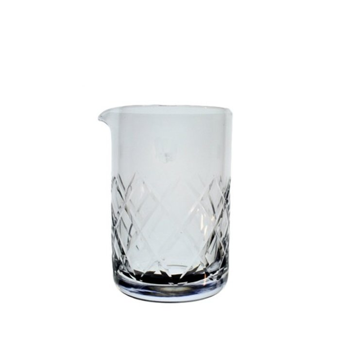 Seamless Diamond Cut Mixing Glass, Japanese