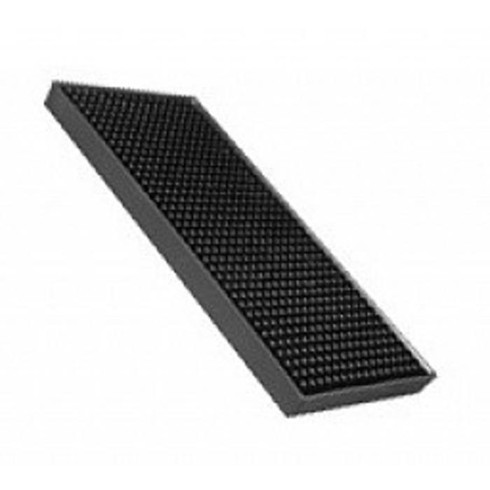 Shaker Mat, Black, 4.5 x 9 in.