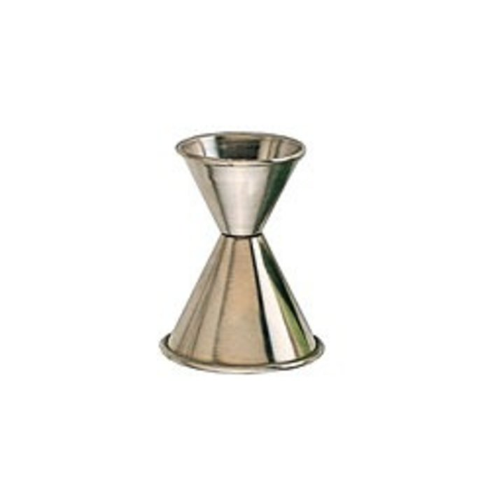 Stainless Steel Jigger, 1 oz. x 2 oz.
