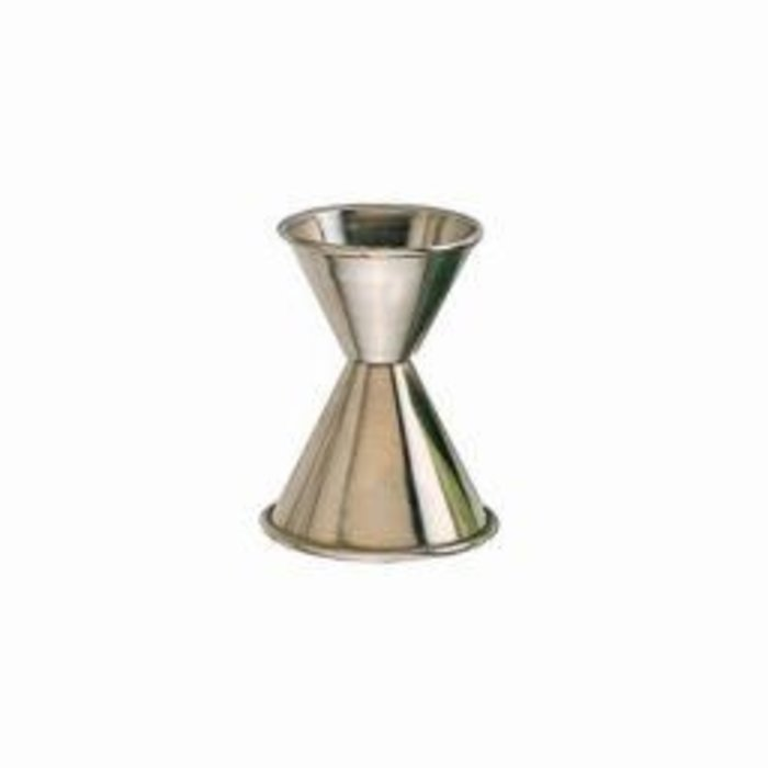 Stainless Steel Jigger, 1/2 oz. x 1 oz.