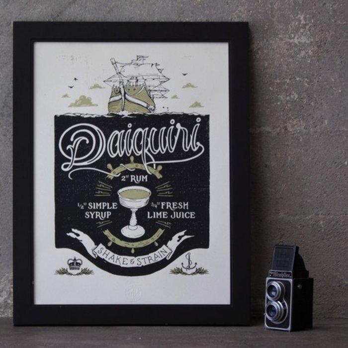 """The Daiquiri Print, 18"""" x 24"""