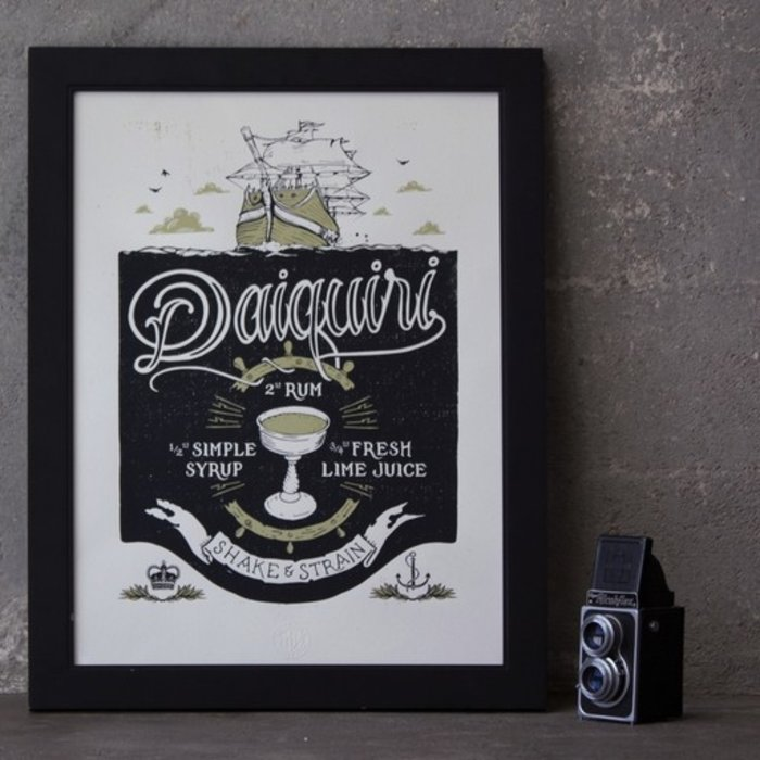 The Daiquiri Print