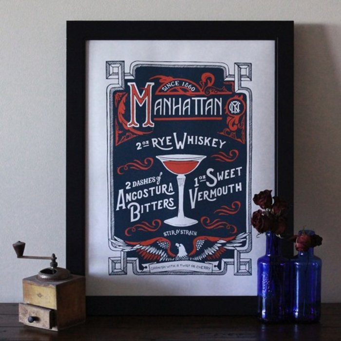 """The Manhattan Print, 18"""" x 24"""