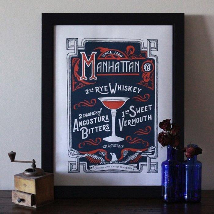 The Manhattan Print