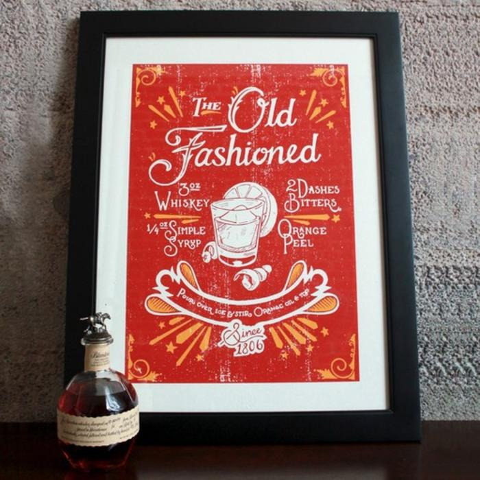 """The Old Fashioned Print, 18"""" x 24"""