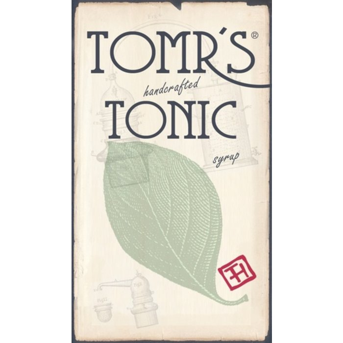 Tomr's Tonic Syrup, 6 oz bottle
