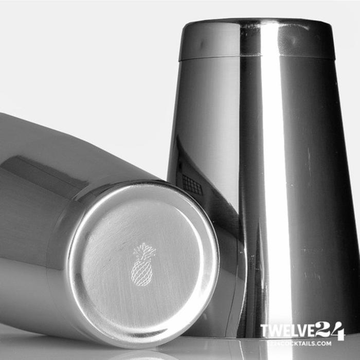 Cocktail Shaker Tin Set, Weighted, 18oz 28 oz. Stainless