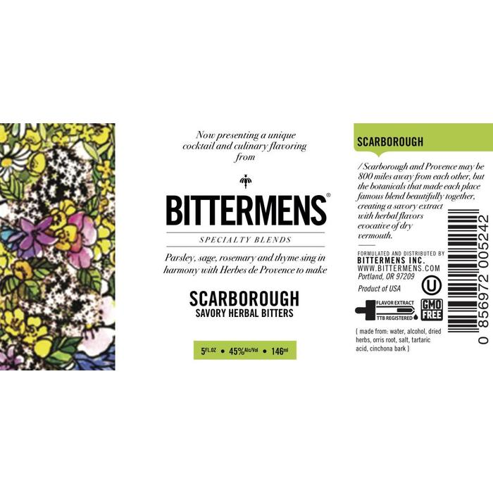 Bittermens Scarborough Bitters