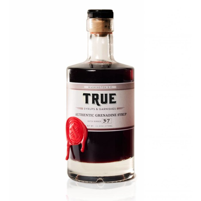 True Syrups Grenadine Syrup, 16oz
