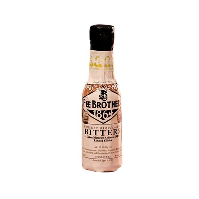 Fee Brothers Whiskey Barrel-Aged Aromatic Bitters