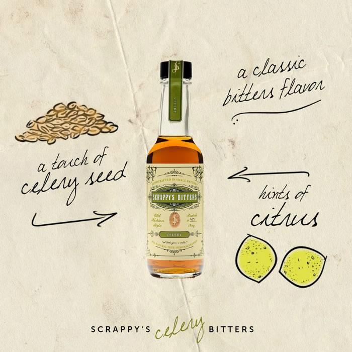 Scrappy's Celery Bitters, 5 oz.