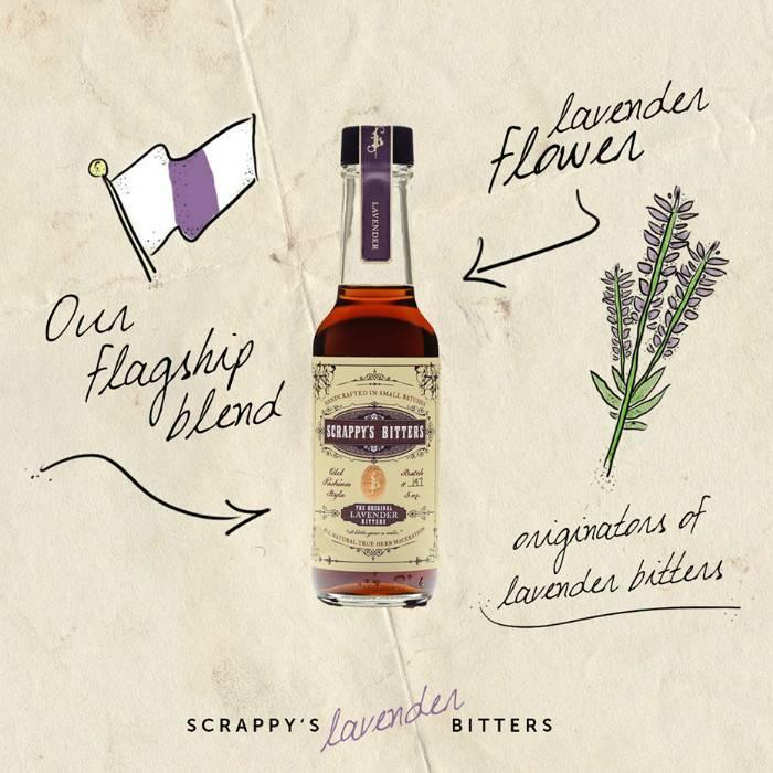 Scrappy's Lavender Bitters, 5 oz.