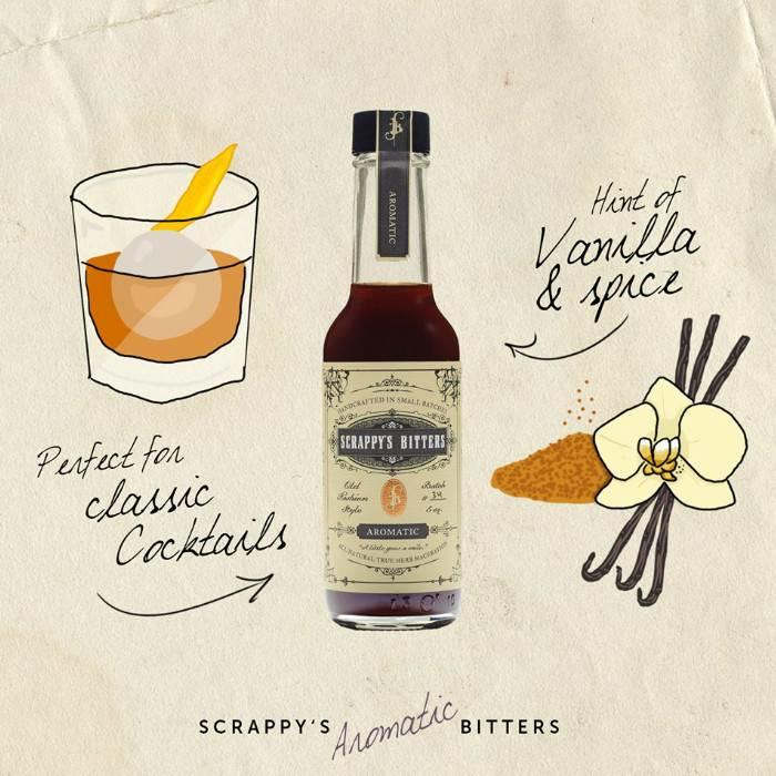 Scrappy's Aromatic Bitters, 5 oz.